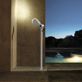 Techmar Flo White 12V LED Garden Post Light
