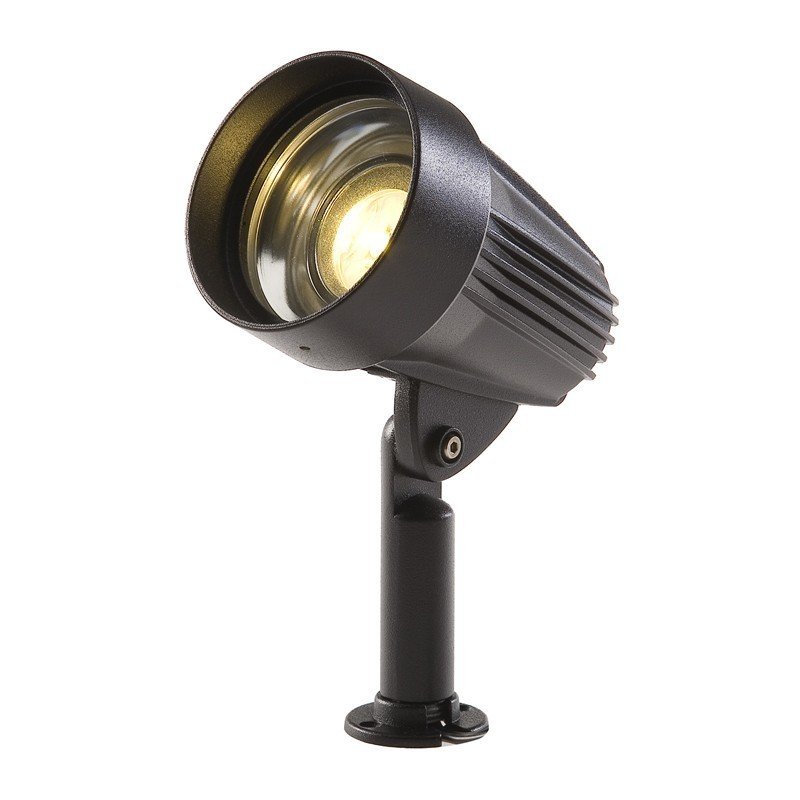 Techmar corvus 12v 3w led plug play garden spotlight for 12v garden lights