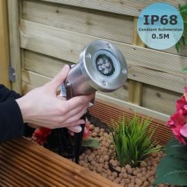 Techmar Protego 12V 5W LED Plug & Play IP68 Spotlight