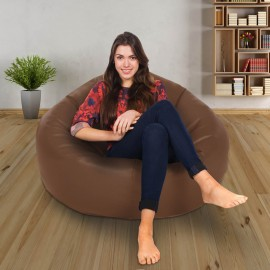 Real Leather Retro Classic Bean Bag