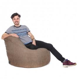 Luxury Chenille Bean Bag Chair