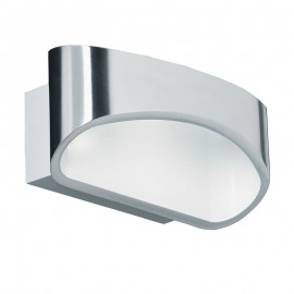 Endon Lighting Johnson 5W LED Chrome Effect Wall Light