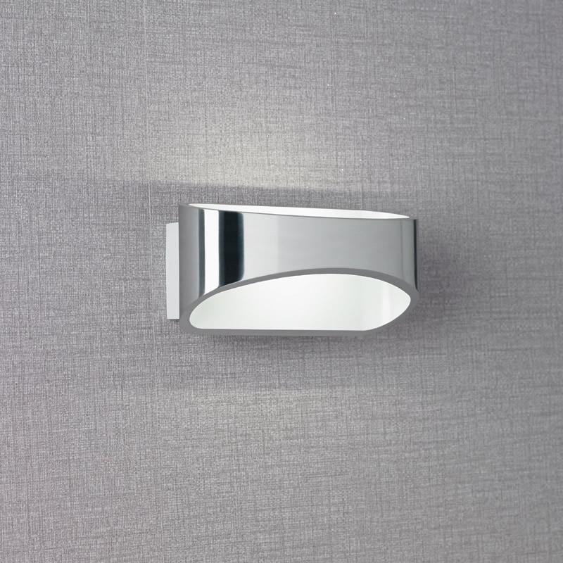 Chrome Effect Wall Lights : Endon Lighting Johnson 5W LED Chrome Effect Wall Light