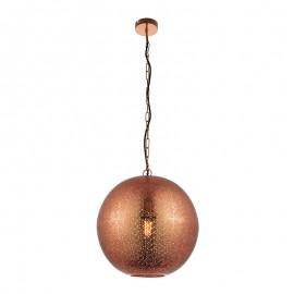 Abu Copper Effect Pendant Light