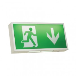 Ansell Watchman LED Exit Sign 3W LED White