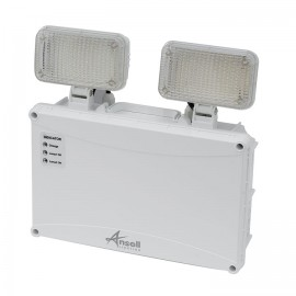 Ansell IP65 Owl LED Twin Spot 5W LED White