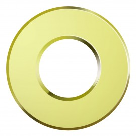 Ansell Bell Magnetic Brass Bezel for Eco LED Firestay Downlight