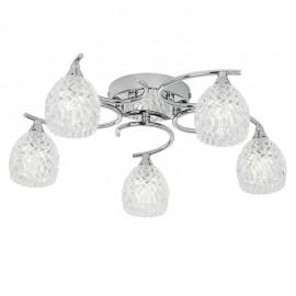 Endon Endon Boyer 5 Bulb Chrome Ceiling Light
