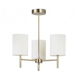 Endon Endon Lighting Brio Brass Finish Ceiling Light