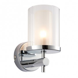 Endon Britton Chrome Bathroom Wall Light