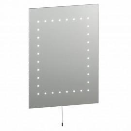 Endon Mareh IP44 Pull Cord Simple LED Bathroom Mirror