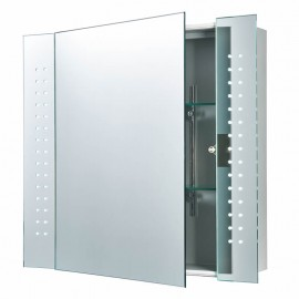 Endon Revelo LED Bathroom Mirror Shaver Cabinet