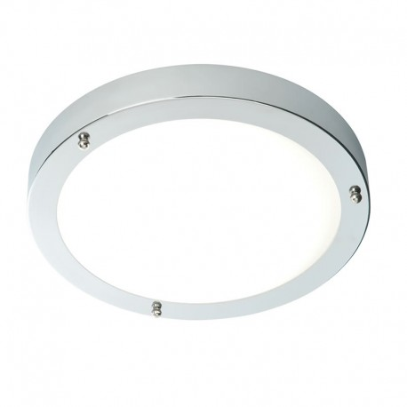 Portico Polished Chrome IP44 Cool White LED Bathroom Light