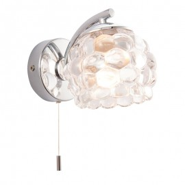 Lawcross Pull Cord IP44 Bathroom Wall Light