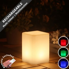 Techmar Smooz Bar Rechargeable LED RGB Table Light