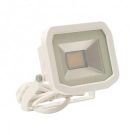 Luceco White 22W Slimline Guardian Floodlight