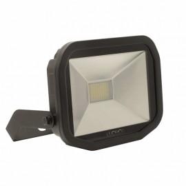 Luceco Black 38W Slimline Guardian Floodlight