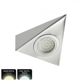 ELD Triangle 12V LED Cabinet / Undershelf Downlight