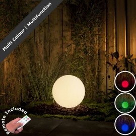 Techmar 30cm LED Ball Light, Remote & Transformer