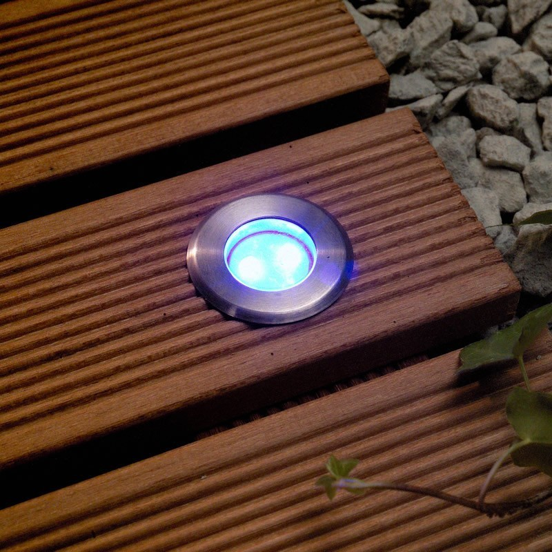 led decking lights techmar astrum blue 12v led garden deck light