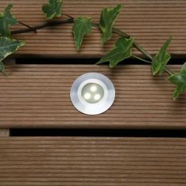 Techmar Alpha Warm White 12V LED Garden Deck Light