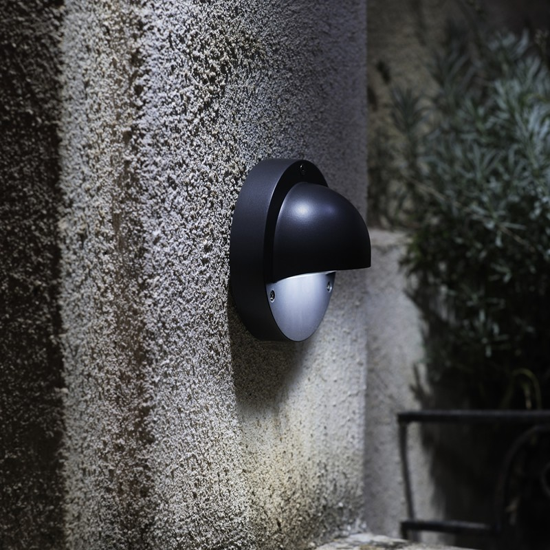 Wall Lights In White : Techmar Deimos Warm White 12V LED Garden Wall Light