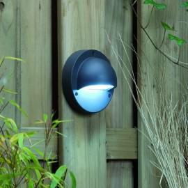 Techmar Deimos White 12V LED Garden Wall Light