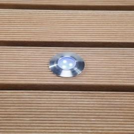 Techmar Alpha Blue 12V LED Garden Deck Light