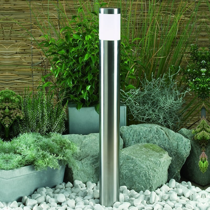Techmar atila staineless steel 12v led garden postlight for 12v garden lights