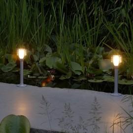 Techmar Helix 12V LED Garden Post Light