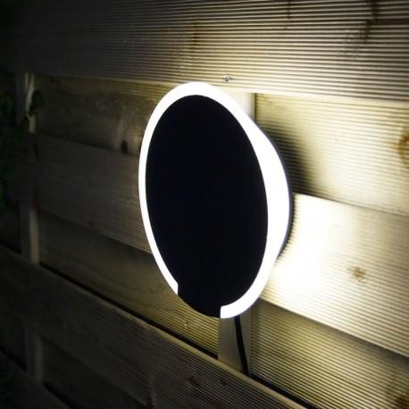 Eclipse 12V LED Garden Wall Light