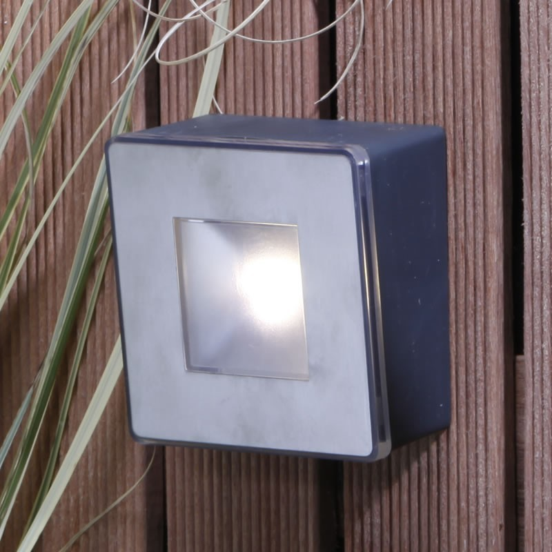 Techmar Willow 12v Led Plug Amp Play Garden Wall Light