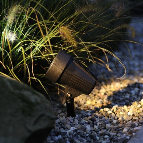 Corvus 12V 3W LED Plug & Play Garden Spotlight