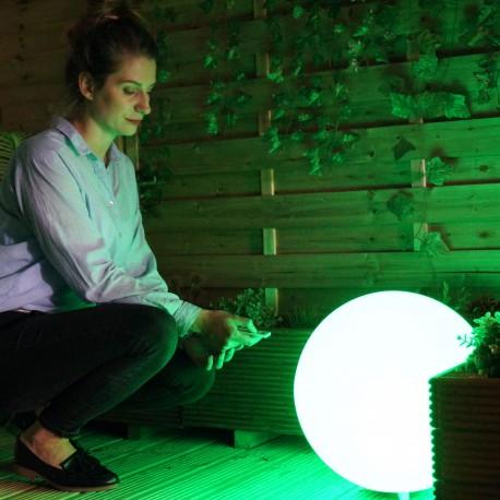 Round 40 RGB Round Garden Light With Remote