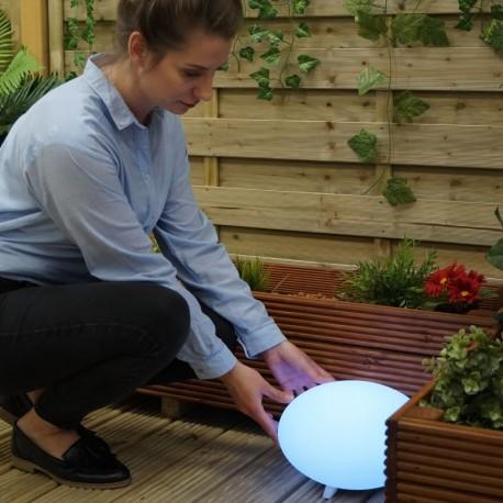 Oval 28 RGB Oval LED Garden Light