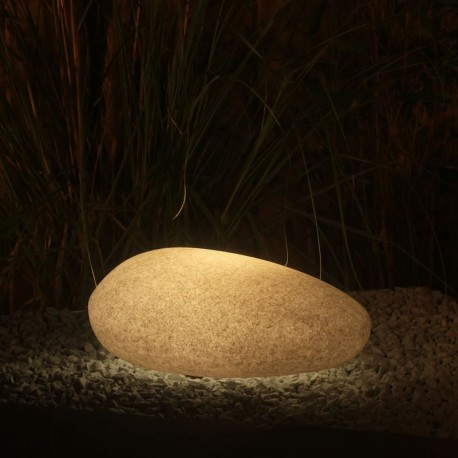 Flat 40 Garden RGB LED Stone Light