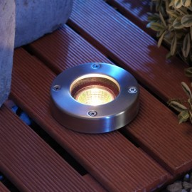 Techmar Umbra Warm White 12V Plug & Play LED Decking Light