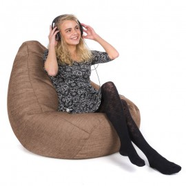 Luxury Chenille Hi-Back Gamer Bean Bag