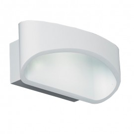Endon Endon Lighting Johnson 5W LED Matt White Wall Light