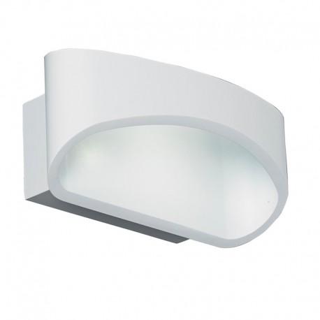 Endon Lighting Johnson 5W LED Matt White Wall Light