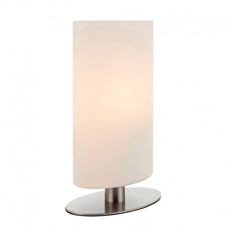 Palmer Satin Nickel Table Lamp