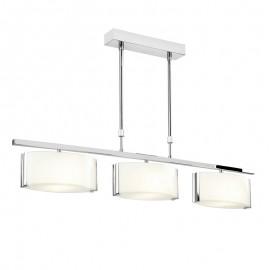 Endon Clef 3 Light Bar Semi Flush Ceiling Light
