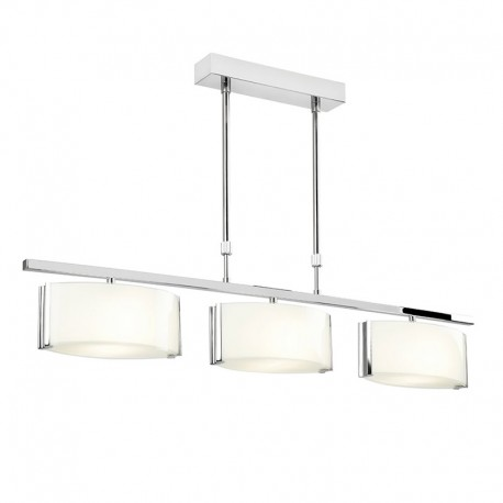 Clef 3 Light Bar Semi Flush Ceiling Light