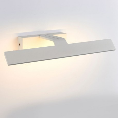 Satre Matt White Modern LED Picture Light