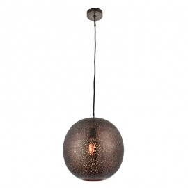 Endon Abu Antique Pewter Effect Pendant Light