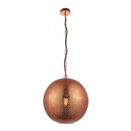 Endon Abu Copper Effect Pendant Light
