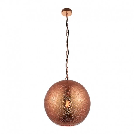 Abu Copper Effect Pendant Light