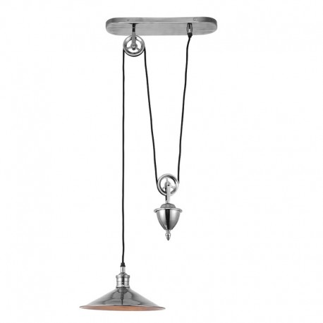 Endon Lighting Victoria Rise & Fall Ceiling Pendant