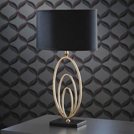 Vilana Antique Gold Finish Table Lamp
