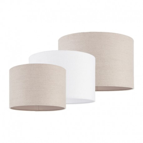 Obi Elegant Vintage Linen Cylindrical Lamp Shade